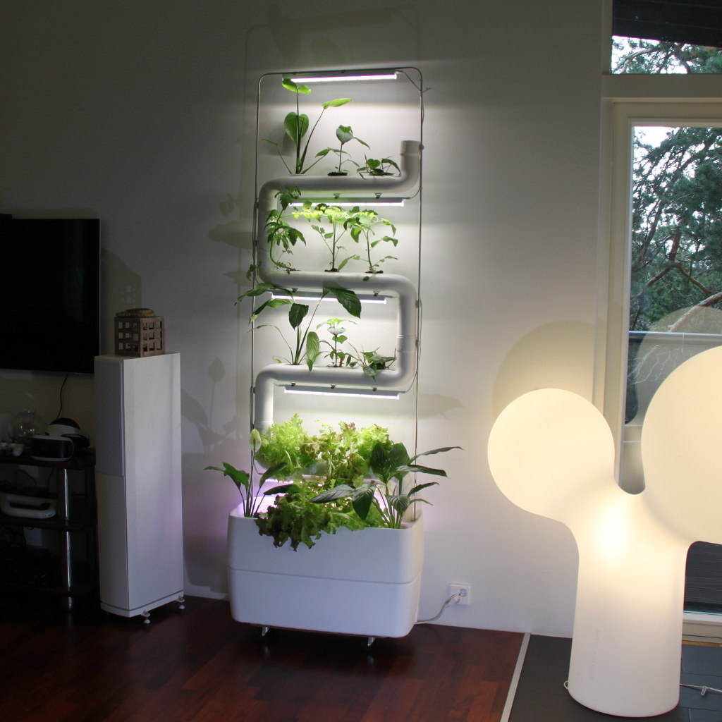 Supragarden Hydroponic Green Wall System Kits Up To 4