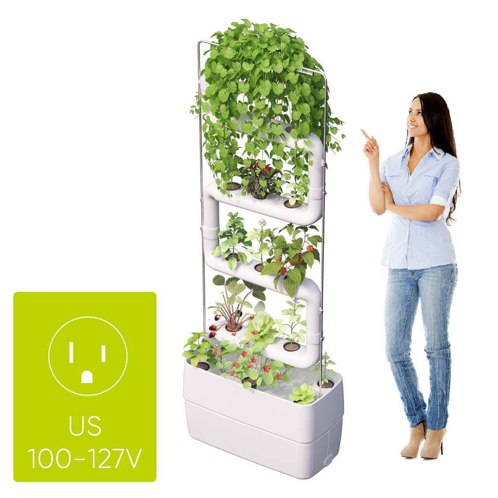 Supragarden® with 4 Plantsteps® | US, Canada and Japan