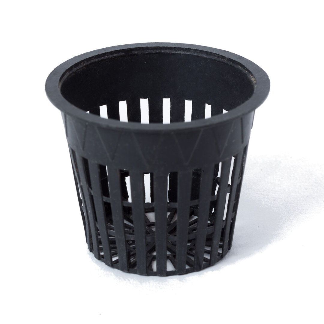 Net Pot 80 mm for Hydroponics | Black