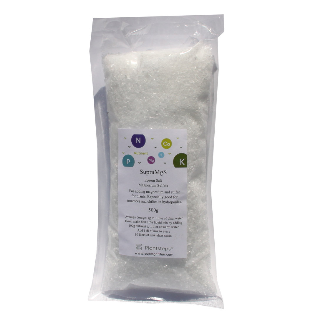 SupraMgS - Epsomsalt Magnesium and Sulfur booster for plants