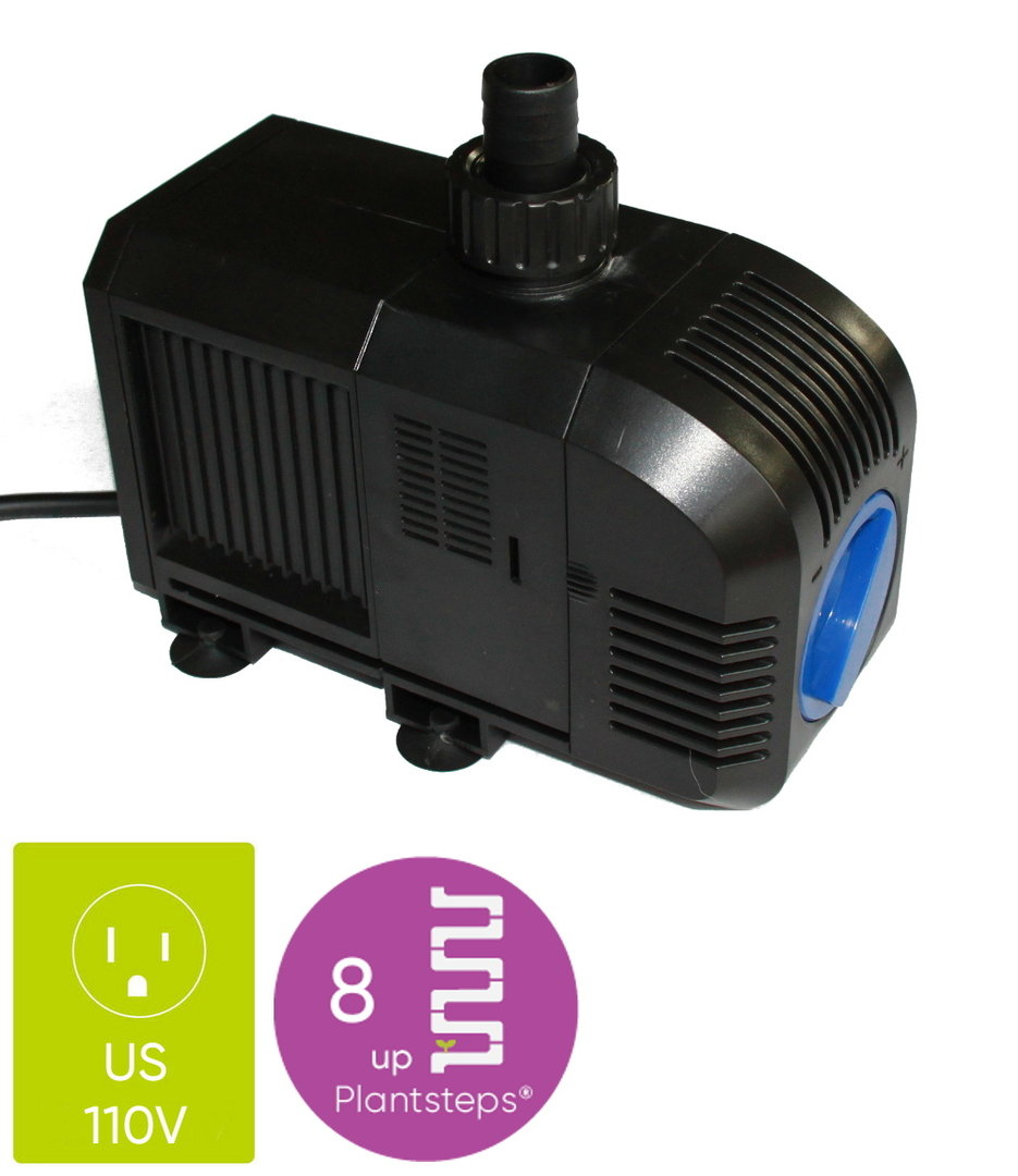 Water Pump up to 8 Plantsteps | 110V