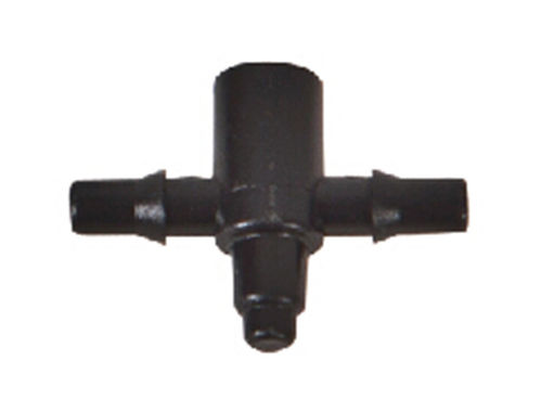 2-way connector 4 mm for air- and watertube