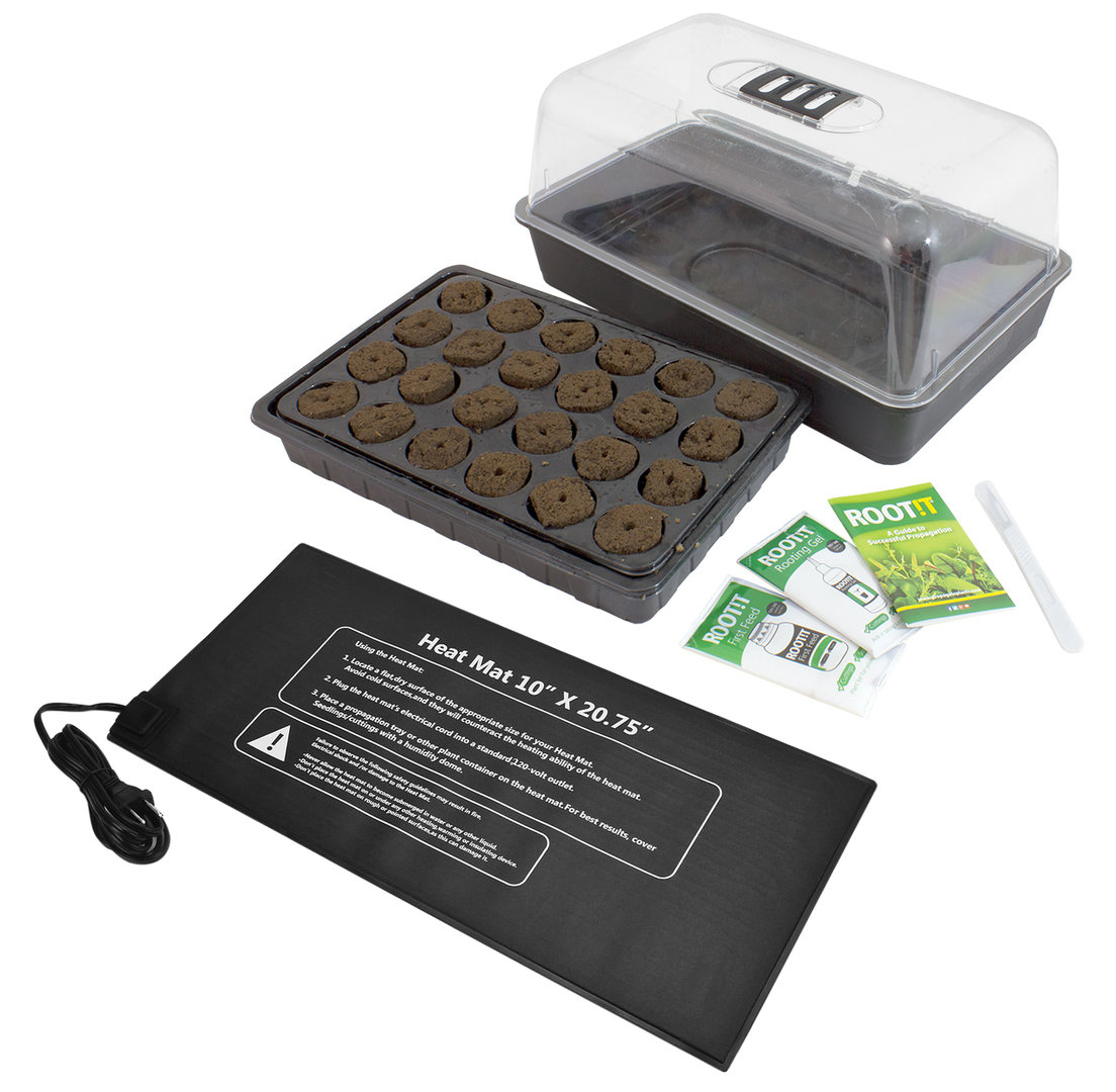 Easy Rooting and Cutting Propagation Kit  with Heat Mat | EU