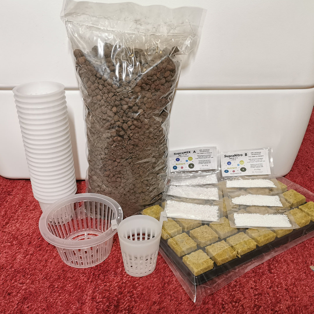 Start-To-Grow Kit for Hydroponic Supragarden®