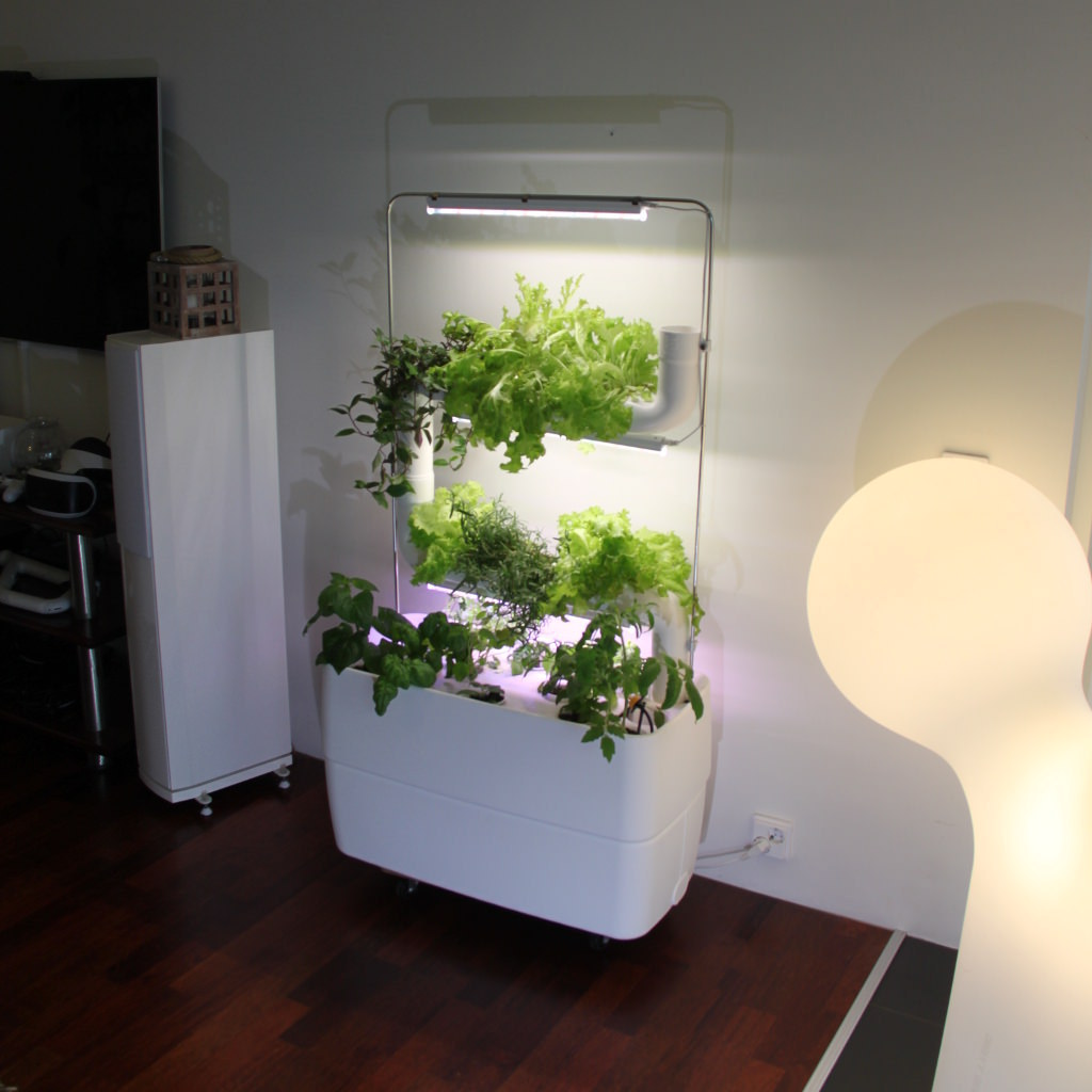 Supragarden® Hydroponic System Kits with 2 Plantsteps®