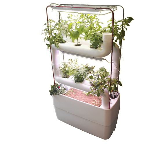 Vertical Garden System Kits with 2+2 Plantsteps®