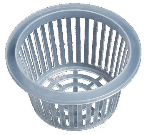 Net Pot 125 mm for Hydroponics | White