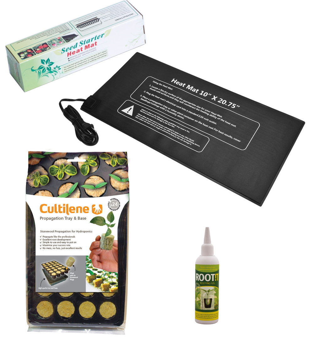 Easy Rooting Package with Heat Mat and Rooting Kit | EU