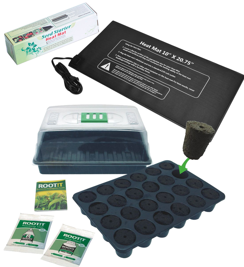 Seadling Package with Heat Mat and Rooting Propagation Kit | EU