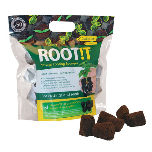 Rootit Natural Rooting Sponges refill pack | 50 pcs