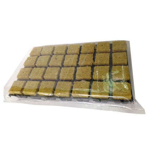 Rockwool Cube Tray for Hydroponics | 28 pcs