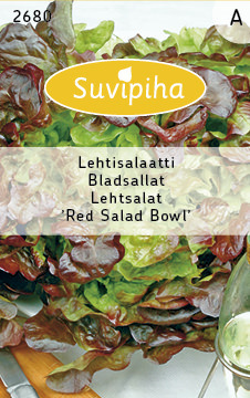 Lettuce seeds - Red Salad Bowl