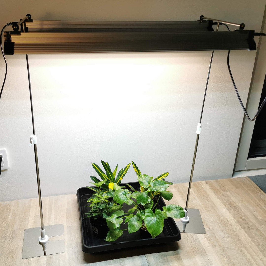 Stand for two Led Grow Lights