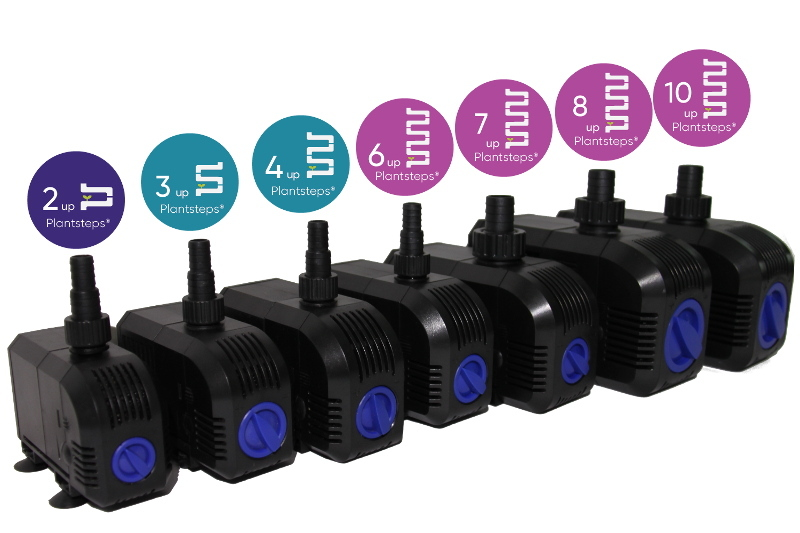 Water pumps for Vertical Hydroponic garden and green wall system